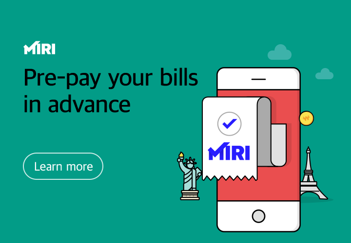 MIRI. you can pay the fee in advance. view more.