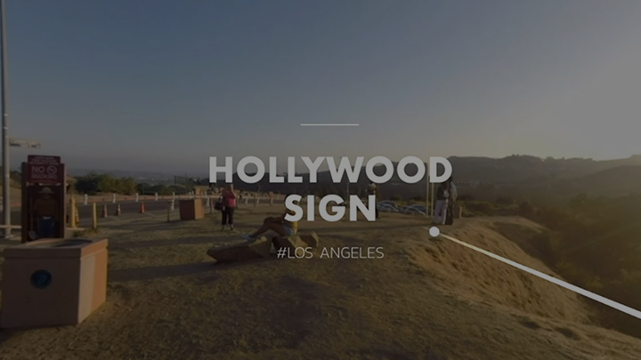 HOLLYWOOD SIGN #LOS_ANGELES